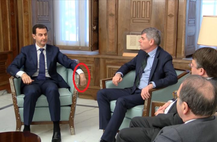 مفاجأة فيديو الأسد.. يرجّح إصابته بجلطة أكثر من النفي (شاهد)