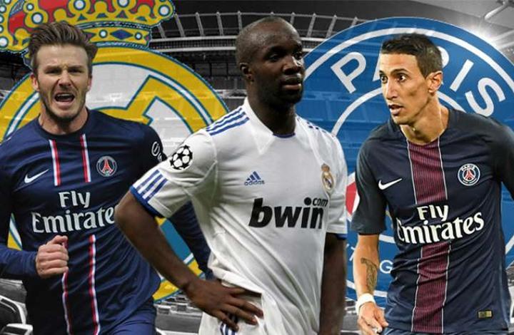 تعرف إلى لاعبين تقمصوا زي ريال مدريد وسان جيرمان