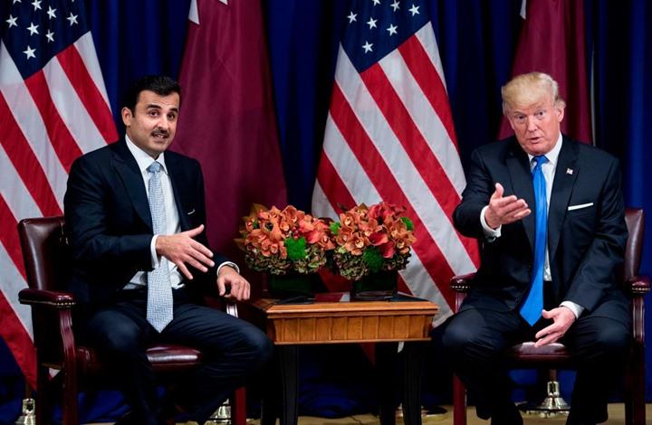 ترامب يهاتف أمير قطر ويشكره على الوساطة مع طالبان