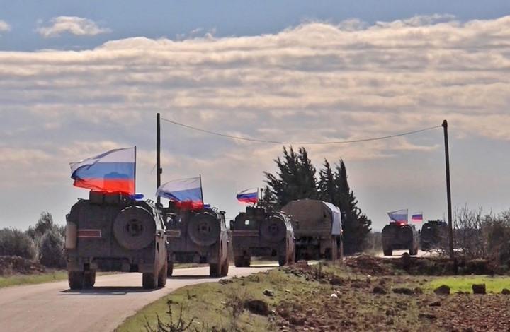 انتشار روسي مكثف حول مناطق نبع السلام التركية بسوريا