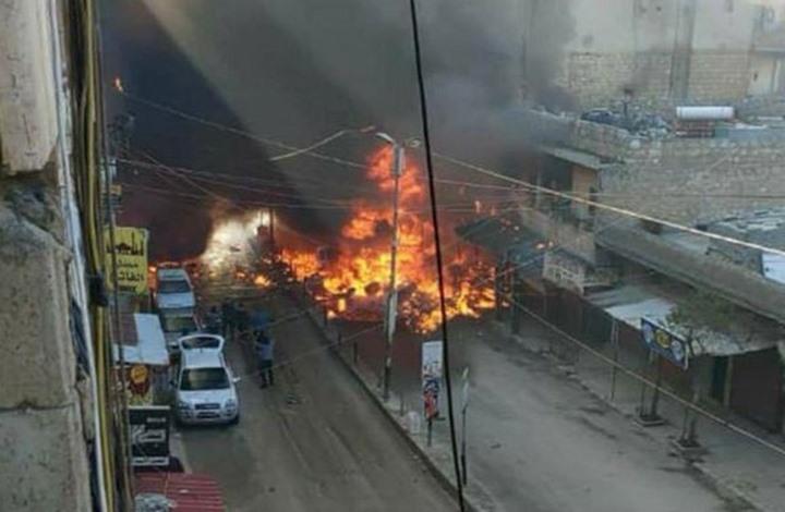 "قتيل وإصابات بانفجار ""مفخخة"" بعفرين شمال سوريا"