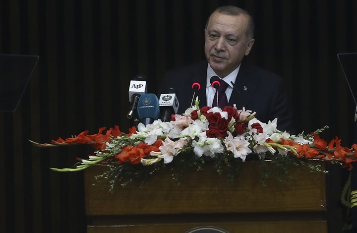 أردوغان يؤكد دعم بلاده لباكستان ضد الضغوط السياسية