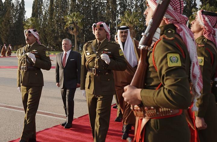 زيارة أمير قطر للأردن.. 10 آلاف فرصة عمل ودعم بـ30 مليون