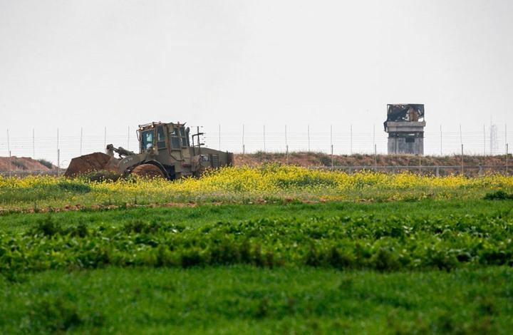 توغل محدود لآليات الاحتلال الإسرائيلي جنوب قطاع غزة