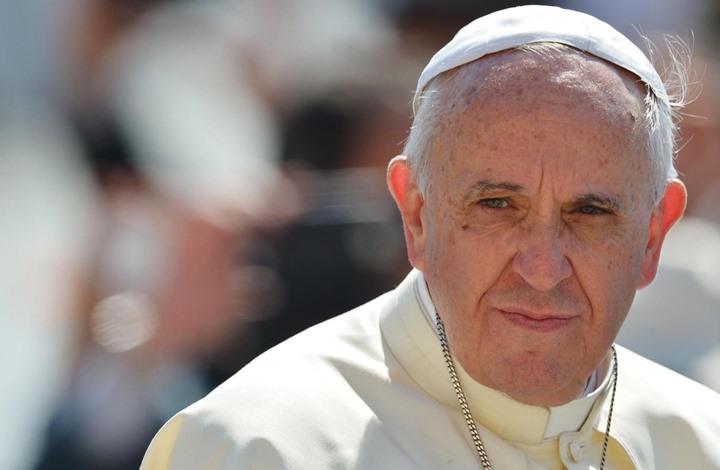 """""""البابا"""" يناشد المجتمع الدولي حماية المدنيين في إدلب"""