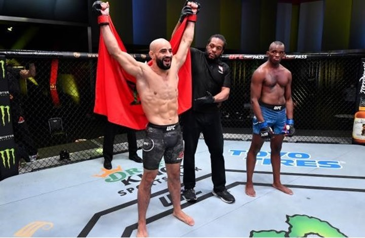 """UFC"" تصدر قرارا جديدا في حق المقاتل المغربي أبو زعيتر"