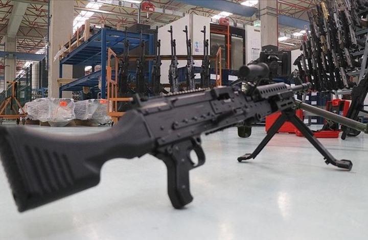 شركة تركية تنتج بندقية رشاشة يصل مداها لـ 1200 متر (فيديو)