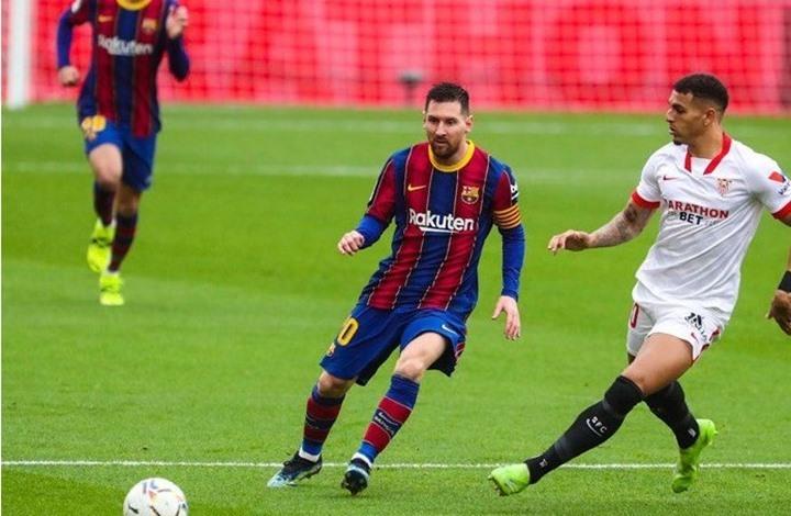 ميسي يقود برشلونة لفوز ثمين في الليغا