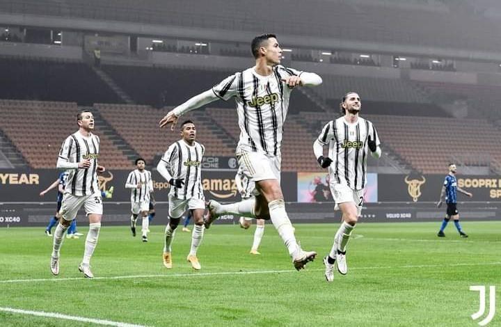 يوفنتوس يضع قدما بنهائي كأس إيطاليا بفضل ثنائية رونالدو