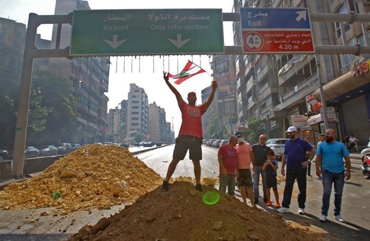 منع شاب لبناني من الانتحار على جسر الكولا ببيروت (شاهد)