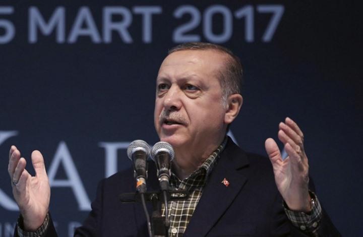 """أردوغان : هكذا ستغدو العلاقة مع أوروبا لو قال الاستفتاء """"نعم"""""""