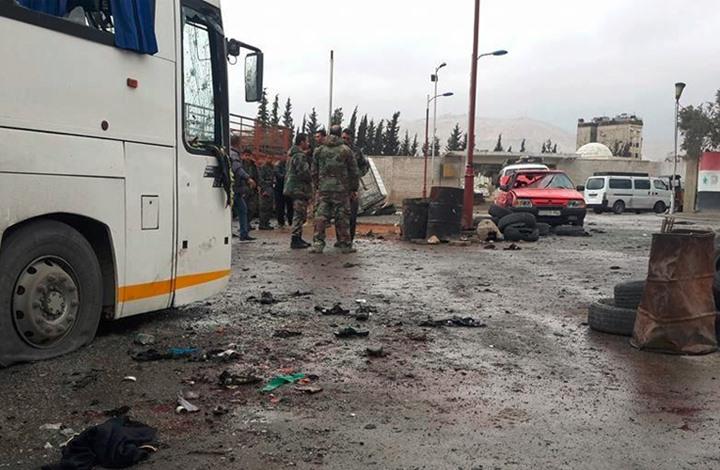 هيئة تحرير الشام تتبنى تفجيري دمشق وتكشف التفاصيل