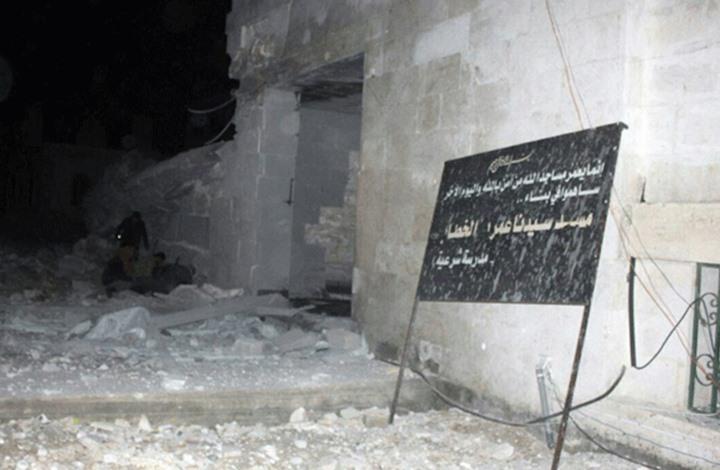 إيران تدين الغارة الأمريكية على مسجد بمناطق المعارضة السورية