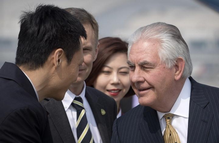 تيلرسون يصل الصين الغاضبة من تصريحاته عن كوريا الشمالية