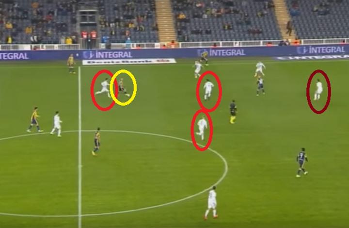 """لاعب تركي """"يخترق"""" فريقا بأكمله ويسجل هدفا ساحرا (فيديو)"""