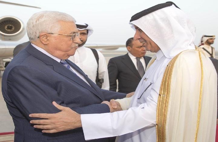 """عباس إلى الدوحة لبحث تداعيات """"مؤتمر البحرين"""" مع أمير قطر"""
