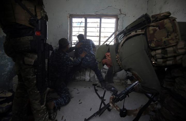تنظيم الدولة يأسر عقيدا و8 ضباط شرطة عراقيين غرب الموصل