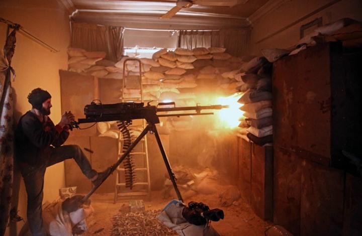 آخر تطورات هجوم الثوار المتواصل على دمشق...والله أكبر  320172211546123