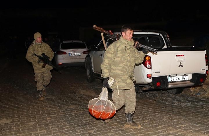 الشرطة التركية تعثر على طيار لنظام الأسد سقط بأراضيها (صور)