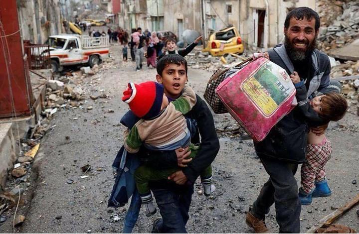 مقتل 14 من عائلة واحدة بالموصل والموت يهدد نصف مليون