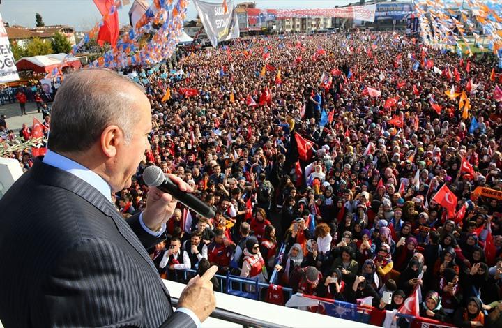أردوغان: تركيا ليست دولة محتلة ولا تكنّ العداء لأي بلد