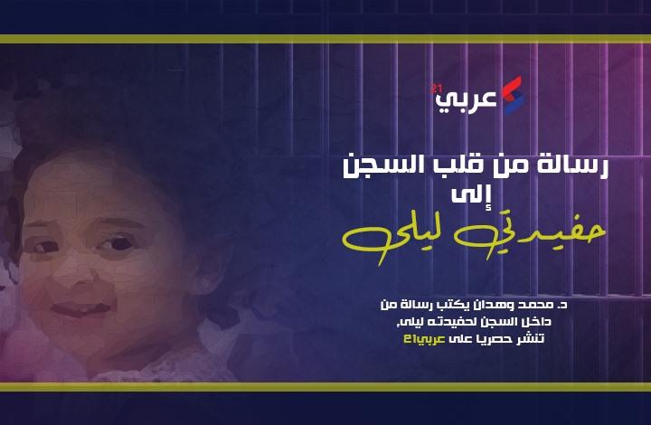 حصري: رسالة من قيادي إخواني معتقل لحفيدته بعد إعدام أبيها