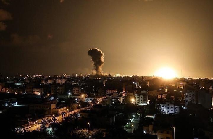 سلسلة غارات إسرائيلية على مواقع للمقاومة بقطاع غزة