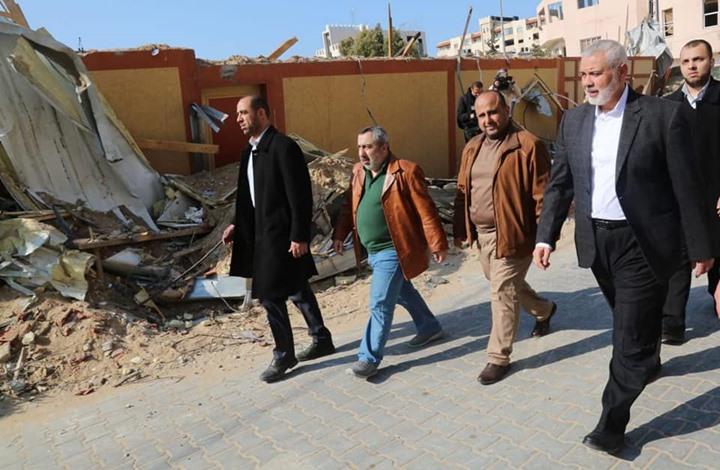هنية: جولة التصعيد مع الاحتلال انتهت لكن المعركة لم تنته