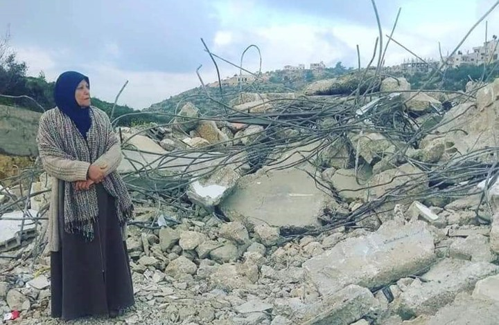 هكذا علقت أم فلسطينية على هدم الاحتلال لمنزل نجلها (شاهد)