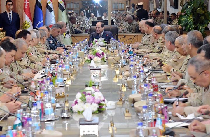 لماذا فرض السيسي قيودا على ترشح العسكريين للانتخابات؟