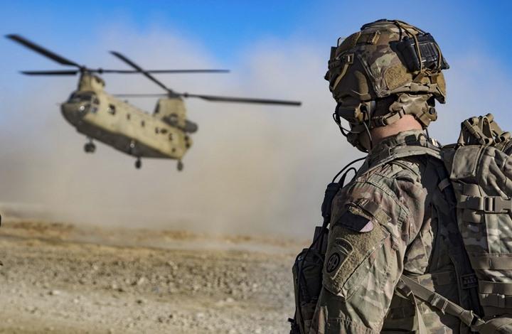 القوات الأمريكية في أفغانستان تبدأ بالانسحاب وتسليم القواعد