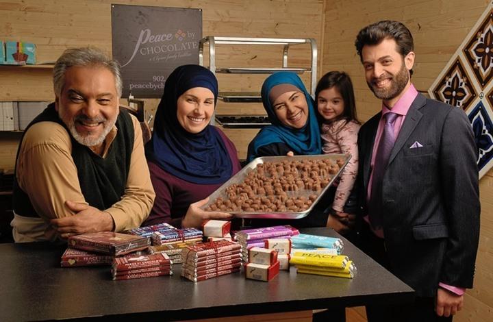 """فيلم """"السلام عبر الشيكولاتة"""" يروي قصة لاجئي سوريا"""