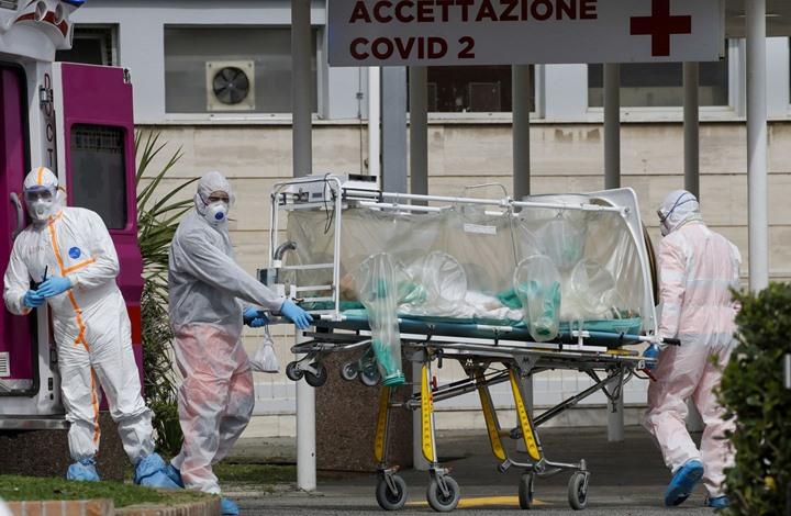 فيديو صادم من مشفى بإيطاليا.. هذه آخر حصيلة لضحايا الوباء