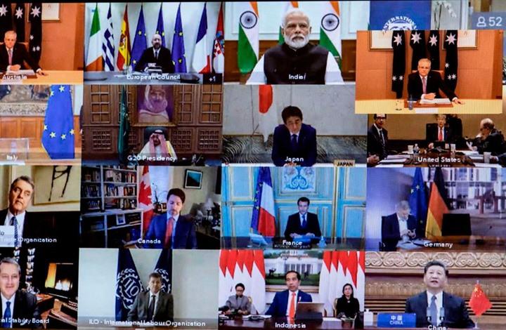 """G20"" تبحث الجمعة التداعيات الاقتصادية لسلالات كورونا"