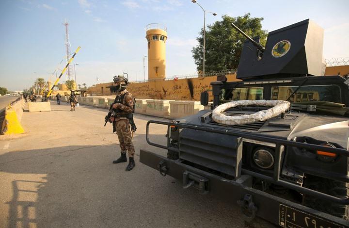 هجوم يستهدف المنطقة الخضراء قرب سفارة واشنطن ببغداد (شاهد)