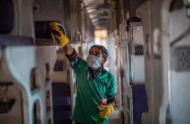الهند تحتل المرتبة الثانية عالميا بعدد إصابات كورونا