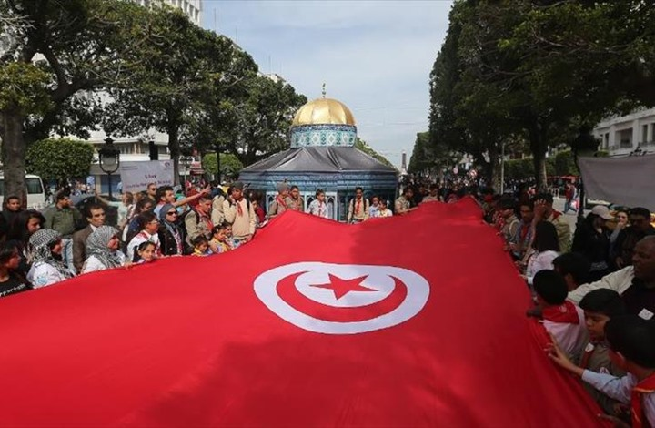 إحياء ذكرى يوم الأرض الفلسطيني بتونس بدعوة من النهضة
