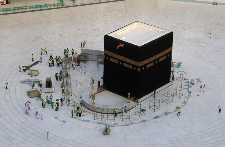 السعودية تعيد فتح الحرمين بعد إغلاقهما مؤقتا (شاهد)