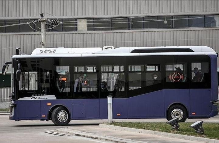 """""""أتاك"""" التركية.. حافلة كهربائية بدون سائق.. هذه ميزاتها"""