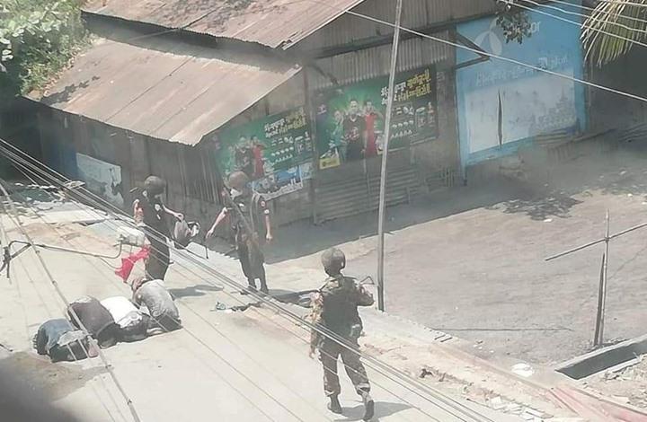 "11 قتيلا باحتجاجات ميانمار ضد الانقلاب.. ودعوات لـ""جيش رديف"""