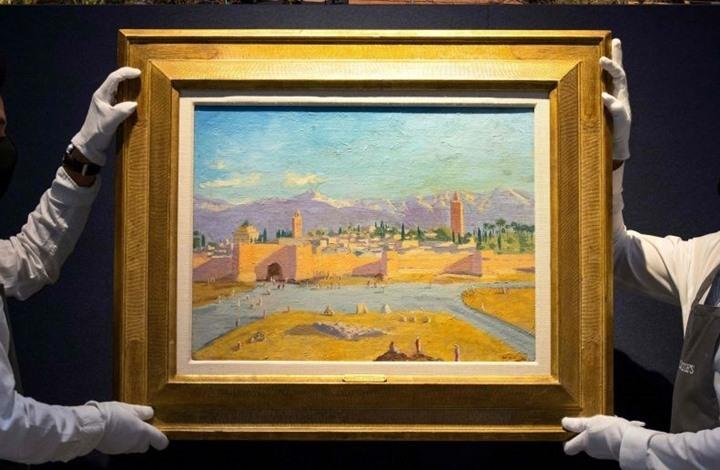 """أنجلينا جولي تبيع لوحة """"جامع الكتبية"""" لتشرشل بـ7 ملايين جنيه"""
