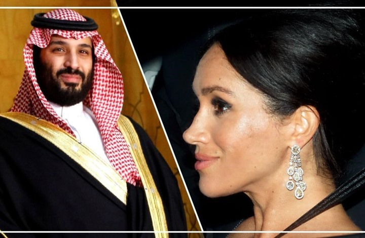 هل ارتدت زوجة الأمير هاري مجوهرات هدية من ابن سلمان؟