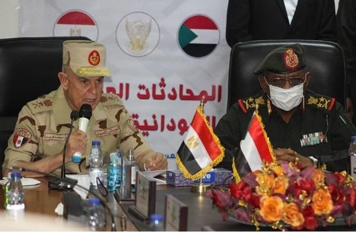 اتفاق عسكري مصري سوداني.. هل هو موجه ضد إثيوبيا؟