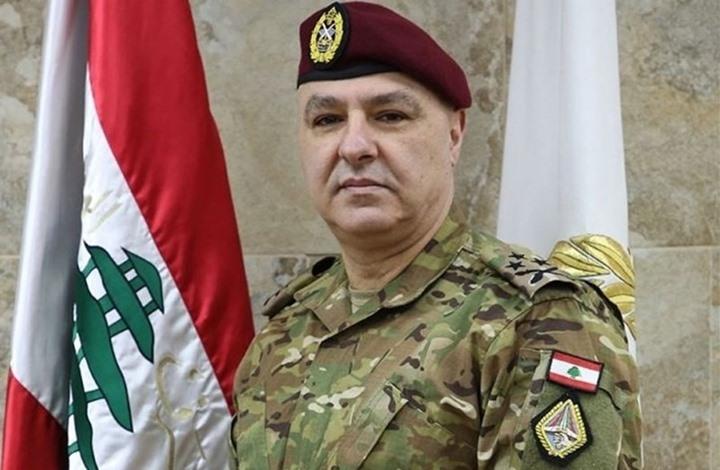 """قائد الجيش اللبناني يدعو للاستعداد لمواجهة تحديات """"مرتقبة"""""""