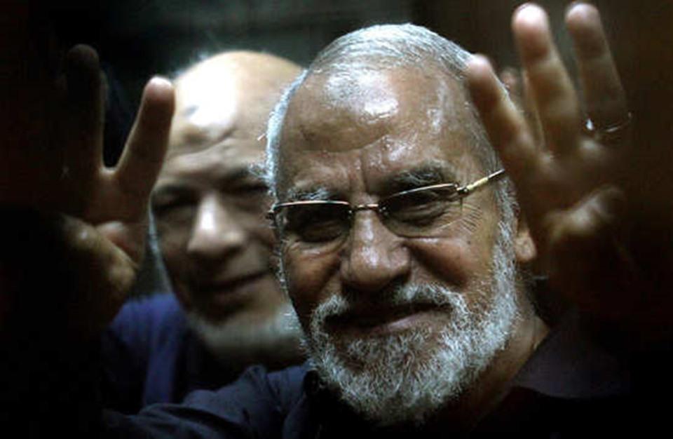 """مؤبد جديد لمرشد الإخوان وقيادات أخرى بقضية """"بني سويف"""""""