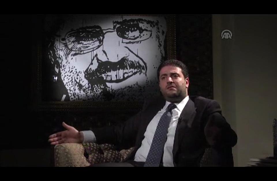"""نجل مرسي يقول إن والده """"متمسك بشرعيته"""" (فيديو)"""