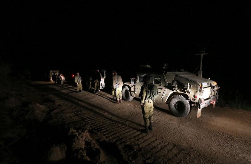 جيش إسرائيل يوثق تلفزيونيا عملية تسلل بعمق سوريا (شاهد)