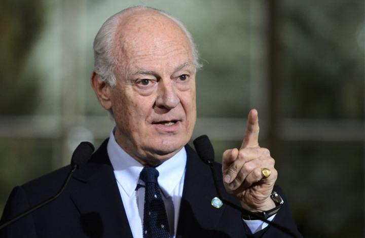 جديد اخبار الامارات - المعارضة ترفض أن يشكل دي ميستورا وفدها التفاوضي