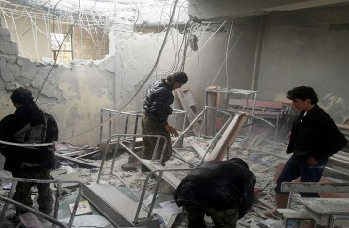 قذيفة لنظام الأسد تقتل عروسين مع 9 من عائلتيهما بالغوطة