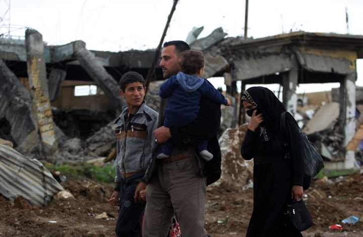 استمرار المعارك بالموصل ونزوح نصف مليون شخص
